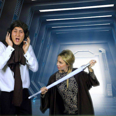 Fotofantasies Star Wars green screen theme